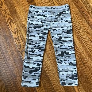 Bebe Sport Camo Leggings